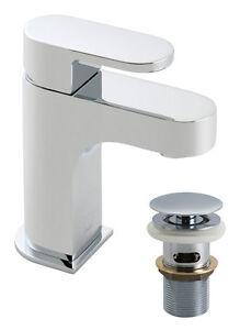 Vado Life Mini Basin Mixer & Clic-Clac Waste LIF-100M/CC-C/P 12 Year Guarantee