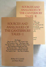 NEW Sources and Analogues of the <I>Canterbury Tales</I> (Chaucer Studies)