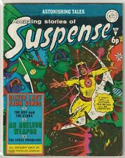 UK Comic: Amazing Tales of Suspense #128 Alan Class & Co 1974 Classic Sci Fi