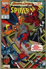 Spider-Man #35-1993 nm- 9.2 Maximum Carnage Venom Black Cat Spiderman