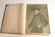 Ancien livre partitions LA MUSIQUE POUR TOUS relié Perducet,Millandy,Goublier..