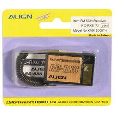 Rc rx6 FM 72 MHz récepteur 6 canaux récepteur align ka913008t 860004