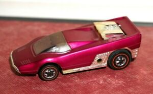 Vintage Hot Wheels 1969 Sizzlers Straight Scoop - Purple untested