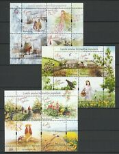 "Moldova 2017-2018-2019 ""Traditional Folk Months"" All Editions 3 MNH Blocks"