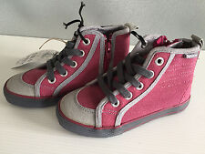 BNWT Little Boys Sz 8 Rivers Doghouse Brand Burgundy High Top Lace Up Boots