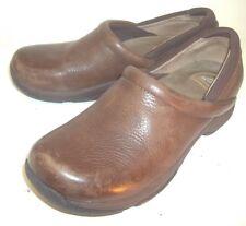 Dansko Womens Shoes Clogs EU 41 Brown Leather Slip-on Professional Work Nurse