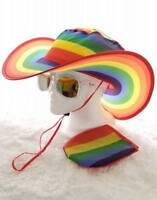 Twist-and-Fold, Foldable Unisex Sun Hat (Rainbow, Waves, Tye Die - FREE SHIPPING