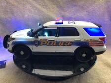 1/18 SCALE GALVESTON TEXAS POLICE  SUV MODEL WITH WORKING LIGHTS AND SIREN