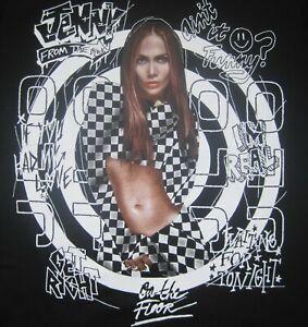Jennifer Lopez It's My Party Concert Women's Graphic Guess T Shirt Long Slv Sz S