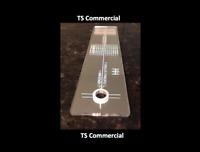 Turntable Phono Cartridge Stylus Alignment Protractor Tool Mirror