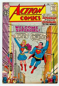 JERRY WEIST ESTATE: ACTION COMICS #278 & 285 (FN+) (DC 1961-62) NO RES!