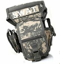 SWAT style multifunction fanny loincloth magazine Tactical ACU camouflage