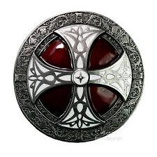 Gothic Celtic Schild Kelten Mittelalter  Biker Gürtelschnalle Buckle *329