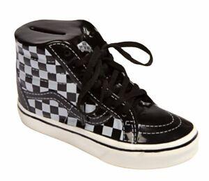 Vans Sneaker Ceramic Piggy Bank SK8-HI Checker Shoe VN0A4DKUOSNOA1