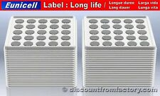 Set of 1000 Batteries Lithium Button CR2430, 100% compatible with BR2430
