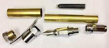 Füller Bausatz Magnetic Hexagon in Chrom, Pen Kit, Drechseln, Pen Blank