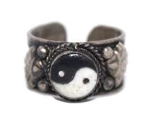 Adjustable Ying Yang Ring Boho ring Gypsy ring Tibetan ring Tibet Ring RB15