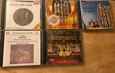 Classical Organ 5 CD LOT Jane Parker Smith,Anthony Newman, Gillian Weir Etc