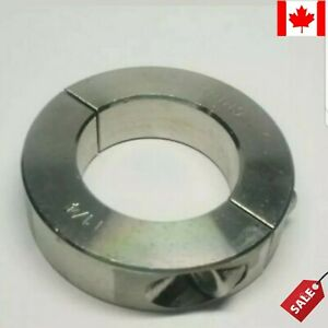 "1-1/4"" Inch Stainless Steel Double Split Shaft Collar"