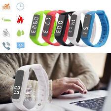 Fitness Orologio Sport Sleep 3D Pedometro Monitor Contapassi Usb temperatura nh