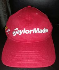 TMAX GEAR TaylorMade Golf Burner R11 Tour Red Cap Hat One Size Polyester