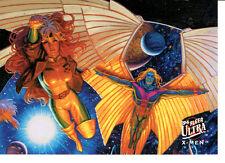 X MEN FLEER ULTRA 94 TEAM PORTRAIT CARD 4 OF 9