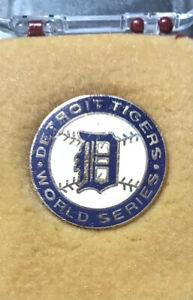 Original 1987 Detroit Tigers World Series Phantom Press Pin