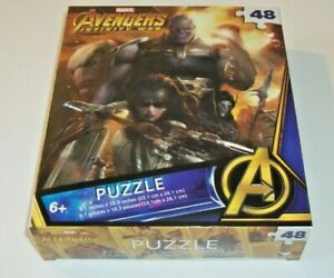 "Marvel Avengers ""Infinity Wars"" 48 Piece 9.1"" X 10.3"" Puzzle"