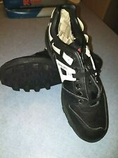 Riddell Rattler Low-height Baseball Shoes Turf Cleats Black Men's Size 8.5
