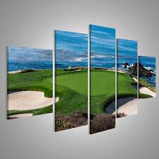 Bild Bilder auf Leinwand Ein Blick auf Loch 7 bei Pebble Beach Golf Li FYQ-MFP