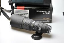 "Sigma AF 100-300mm F4 D APO IF EX for Minolta/Sony ""Mint"" w/Box [1002934]"