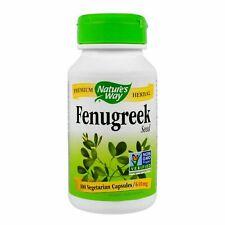 Fenugreek Seed (620mg) - 100 Veg caps - Nature's Way