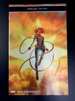 Life of Captain Marvel 5 Main Cover A Stan Lee Tribute Marvel 2018 NM