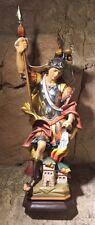 STATUA DI SAN CRISTOFORO CM 30 IN LEGNO