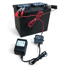 12V 1/2A Trickle Battery Charger Sealed Lead Acid SLA Maintainer Car Boat ATV