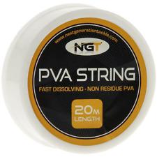 NGT PVA String 20 MT Spool Carp Fishing PVA Coarse 7 PVA Bags 60x85