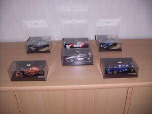 Minichamps- Onyx Formel 1 Sammlung 1:43 Mc Laren-Ligier -Arrows usw