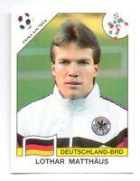 Sticker LOTHAR MATTHAUS Germany FIFA WC 1990 ITALIA 90 DECJE NOVINE YUG PANINI