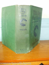 WITH DOG AND CANOE HARD BACK C1930'S BY DILLON WALLACE VINTAGE FICTION