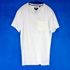 Woolrich Herren T Shirt Oberteil Wotee Weiß Pocket Tee Baumwolle NP 65 Neu