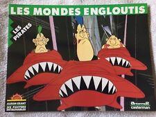 album geant LES MONDES ENGLOUTIS LES PIRATES 6 posters