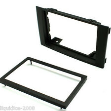 CT24IV03 IVECO DAILY 2009 ONWARDS BLACK DOUBLE DIN FASCIA ADAPTER FRAME