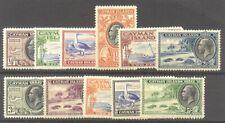 Cayman Is. #85-95 Mint - 1935 K G V Pictorials ($155)