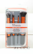 Real Techniques CORE COLLECTION (Foundation Buffing Contour) Brush Set #1403 NEW