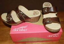 NEW IN BOX DANSKO SOPHIE VINTAGE PULLUP WOMENS 41 TEAK FREE SHIPPING