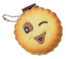 Biscuit Squishy Keyring Vanity Mirror Bag Pastel Goth Cosplay Charm Kawaii