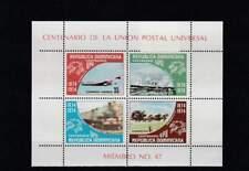 UPU 100 Jaar - Dominicana postfris 1974 MNH Block 27 (s1919)