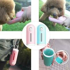 EY_ EE_ EG_ Mini Dog Outdoor Walking Water Bottle Bowl Dispenser Pet Travel Drin