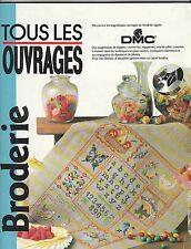 Tous les ouvrages Broderie DMC N°3 Décembre 1991