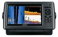 Garmin echoMAP 73sv Fishfinder/GPS, LakeVü HD Transducer 77-200kHz DownVü SideVü